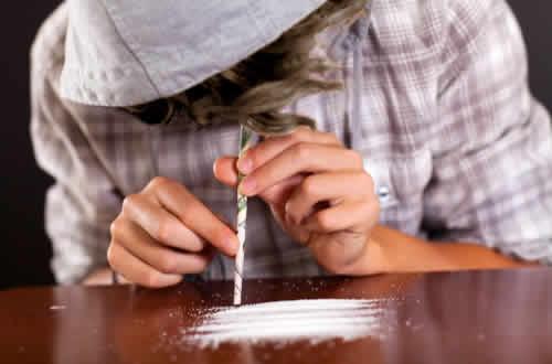 Efectos de la cocaina en adolescentes