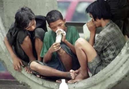 Efectos de los inhalantes en adolescentes